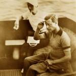 EDWARD I WALLIS 27.08.1936 YACHT NAHLIN DALMATIAN COAST