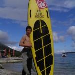 Pobjednik prve Viganj fun SUP race - Ive Trojanović